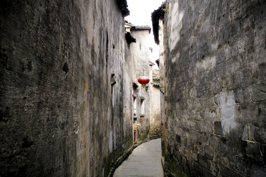 Typical alleyway.