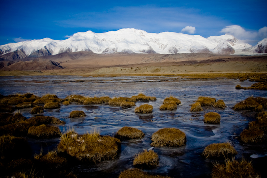 Karakul Lake Permit Mountains Around Karakul Lake