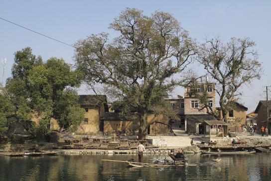 The village next to Dragon Bridge.