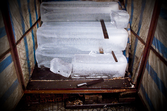 The iceman cometh.