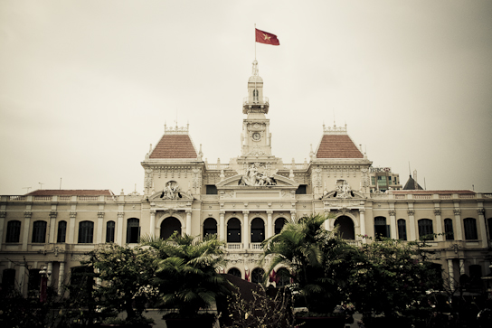 The People's Committee Building.