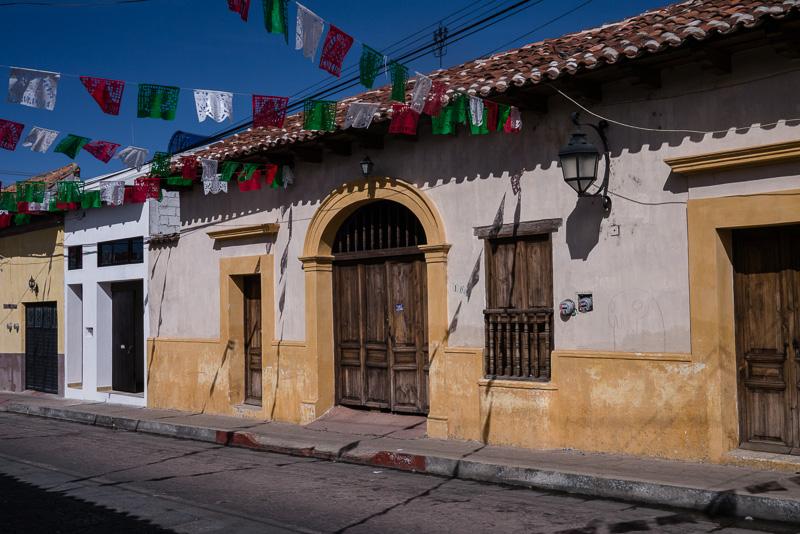 Typical San Cristóbal street