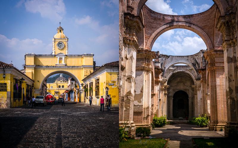 Santa Catalina Arch; Ruins, Antigua.