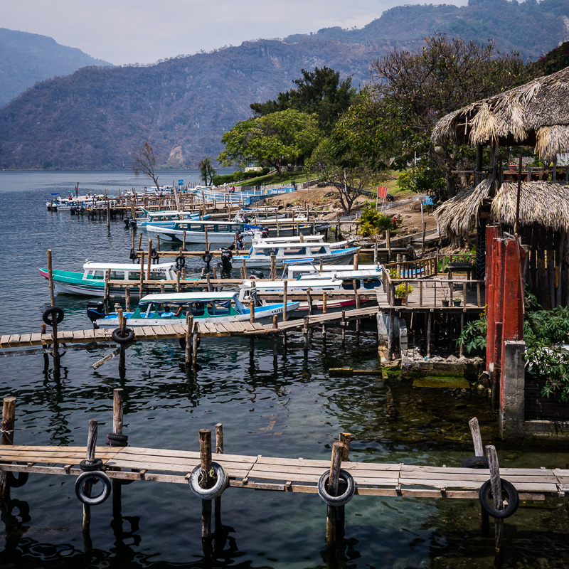 The docks along Pana.
