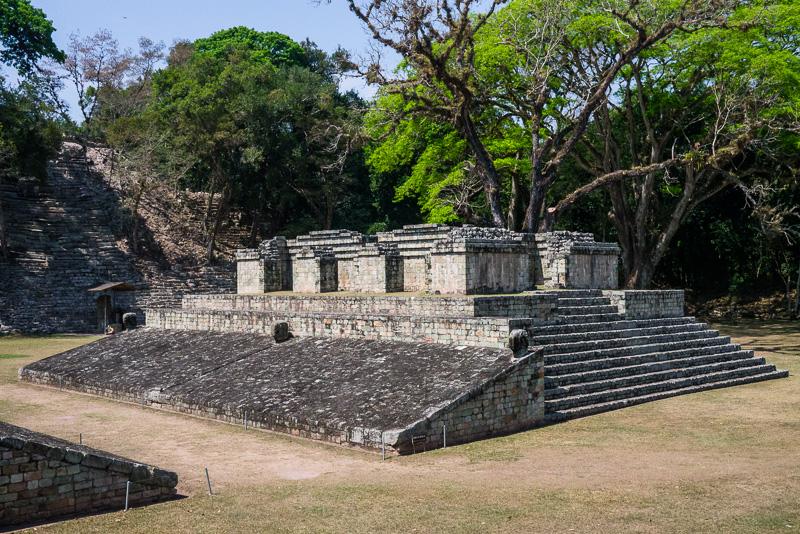 Ballcourt, Copán