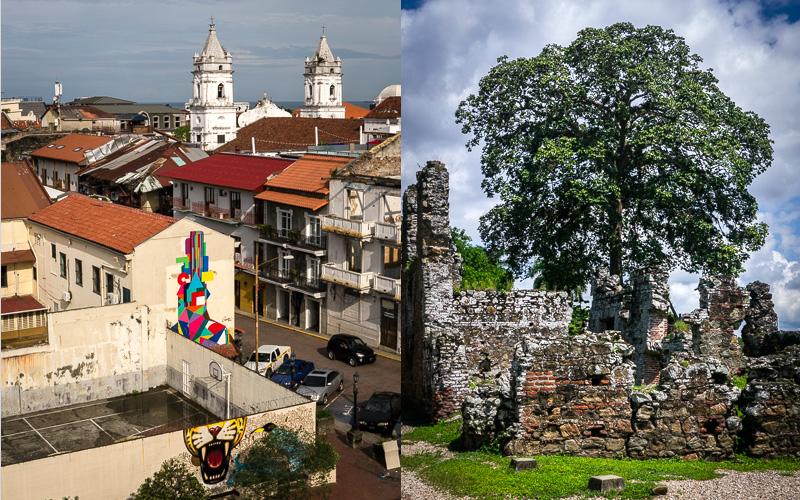 Casco Viejo; Panama Viejo.