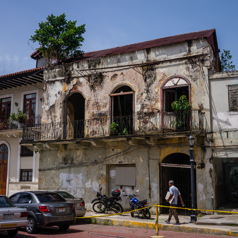 Casco Viejo is a mix of the old and new.