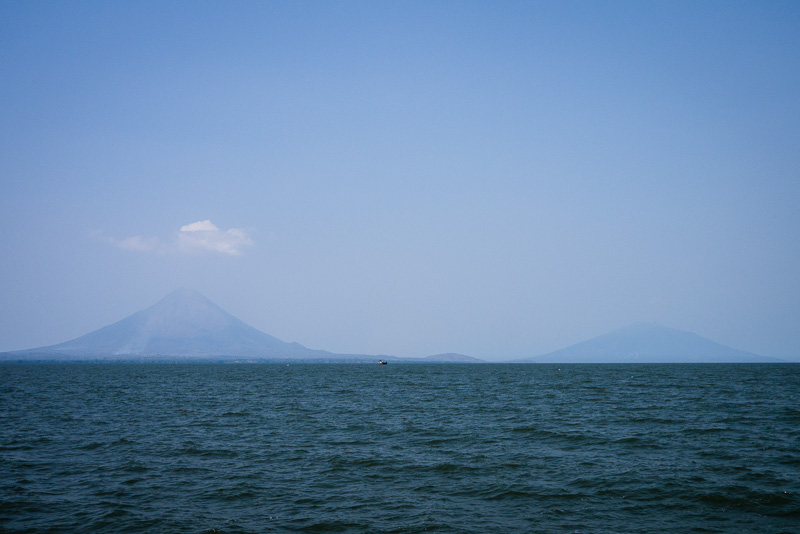 The peaks of Ometepe: Volcáns Concepción and Maderas.